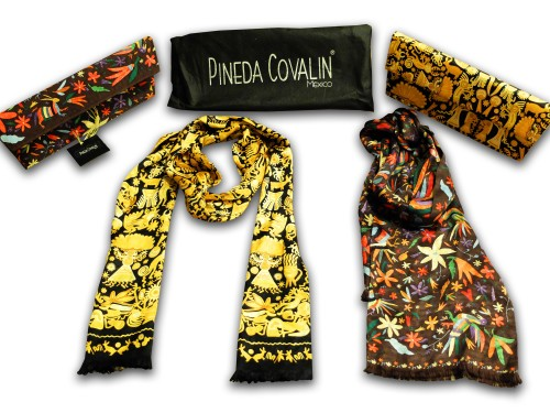 Pineda Covalin bags and scarves