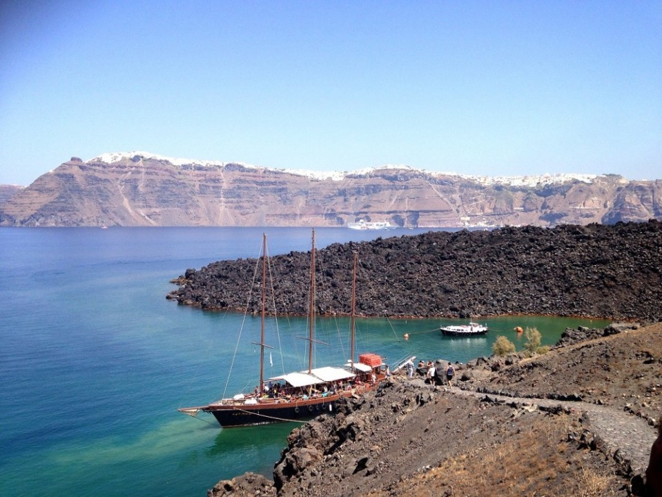 Santorini's Volcano
